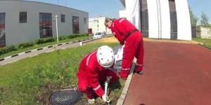 Embedded thumbnail for Трап спасательный пожарный Самоспас (подготовка)